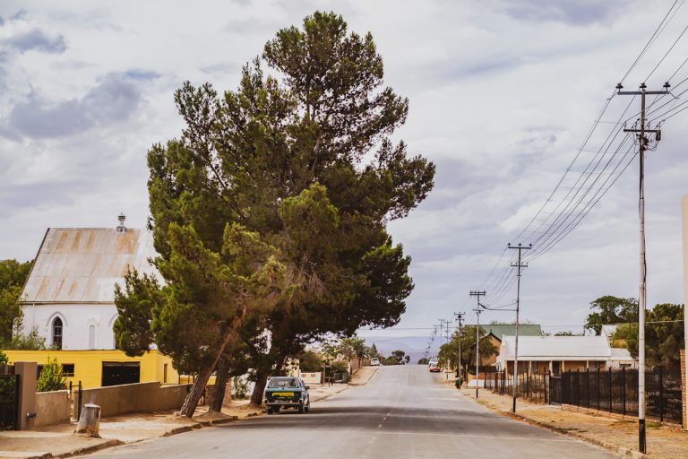 The beautiful town of Willomore in the greater Karoo of South Africa