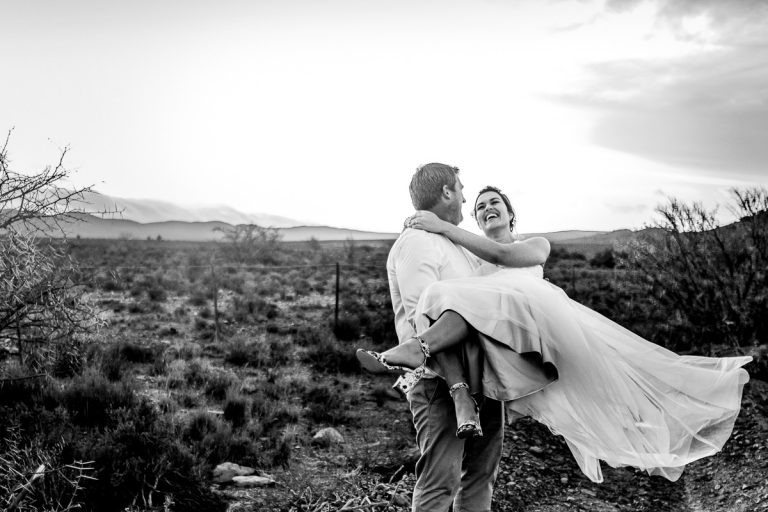 A fun moment during the couple portrait session