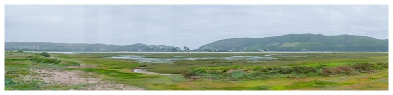 Tsala wedding with the beautiful Knysna heads as photographed over the swamp lands