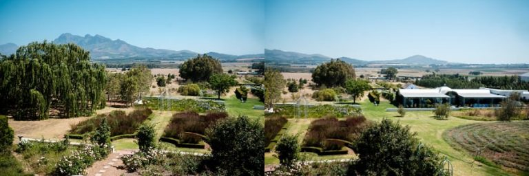 the beautiful views at Wedding venue, Belair in paarl