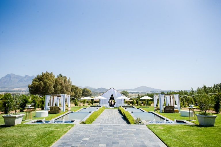 the stunning views at Wedding venue, Belair in paarl
