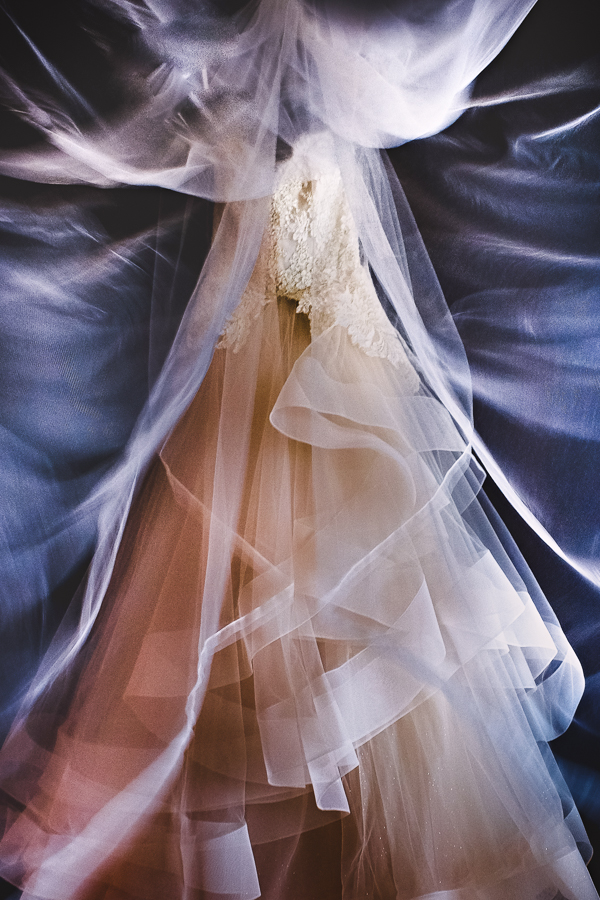 wedding dress photos with a creative flair