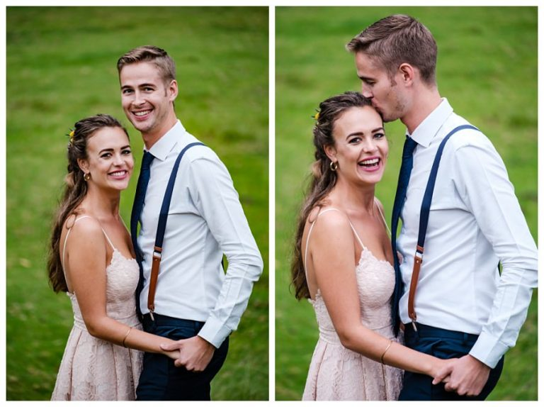 loving bridal couple photos