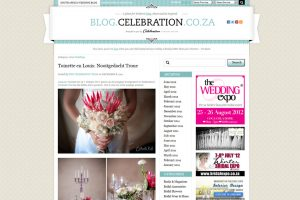 celebration blog real wedding