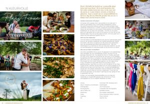 garden route wedding magazine real farm wedding feature