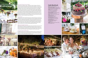 overberg farm wedding feature in magazine