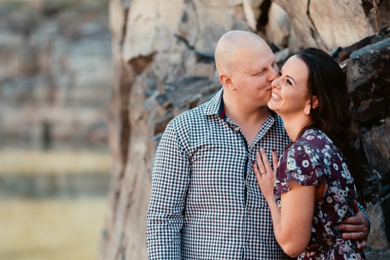 Hillcrest Quarry Engagement Shoot
