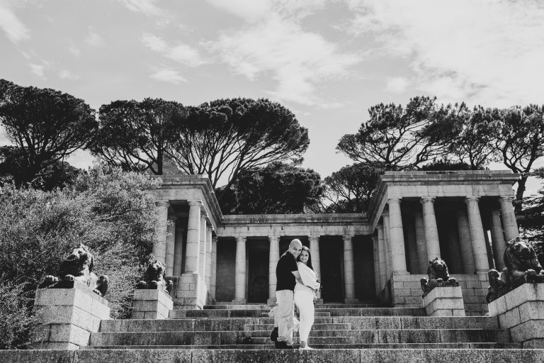Rhodes Memorial Engagement Photo & Video Shoot