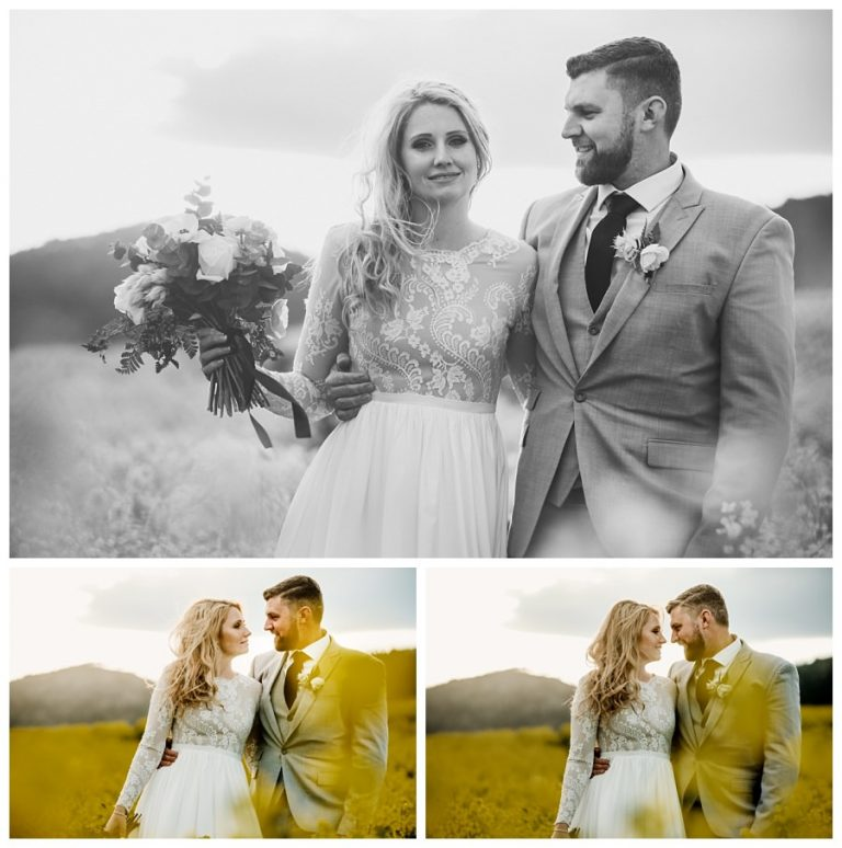 the few couple portraits in the blooming canola fields