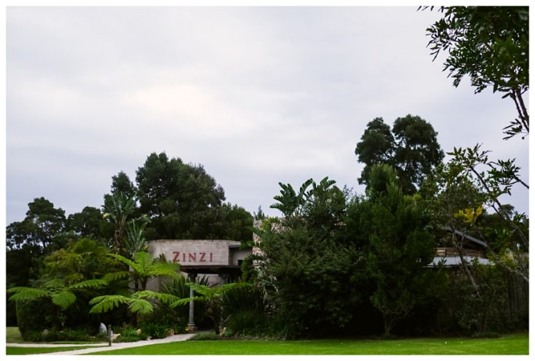 the zinzi restaurant on the estate where the wedding reception took place