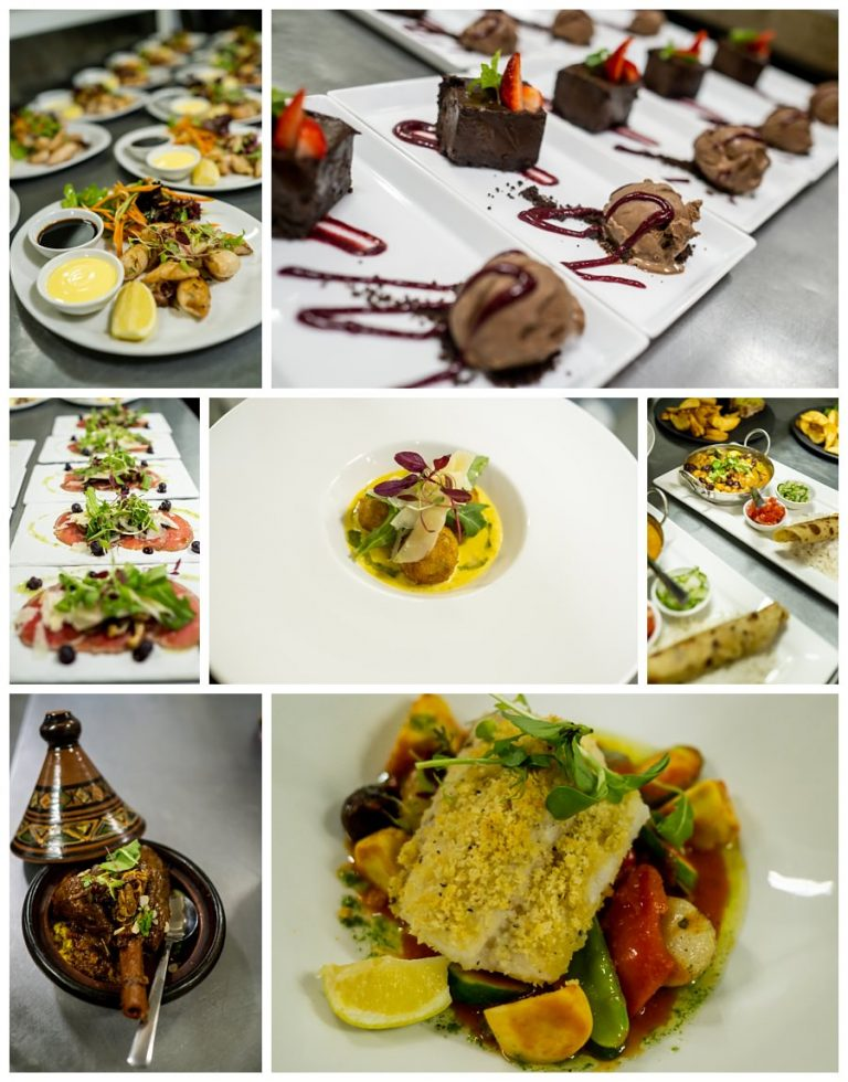 the delicious food by the zinzi restaurant