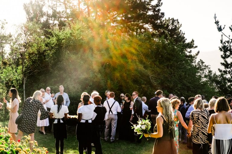 beautiful natural light for the pre wedding reception drinks