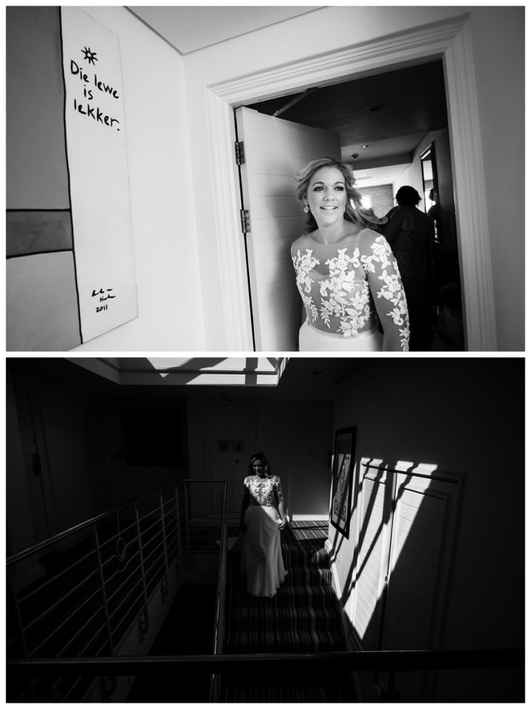 Wedding preparation photos at Twelve Apostles hotel
