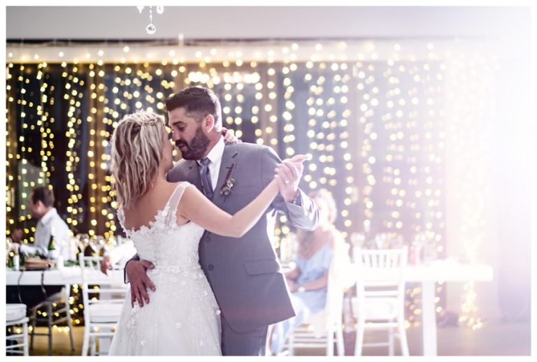 husband and wife opens the dance floor